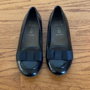 Geox - kids black Patent Leather dress shoes